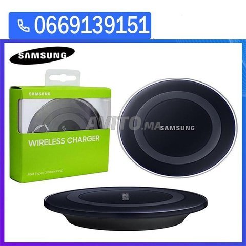 Samsung chargeur sans fil S6/S7/S8 Iphone 8 neuf - 2