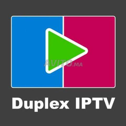 ABONNEMENT IPTV 12 MOIS DUPLEX PLAY 4K - 1