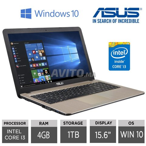 ASUS X509J 10GN/4GB/1TB/W10 NEUF - 8