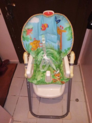 chaise haute pour bébé  - 1