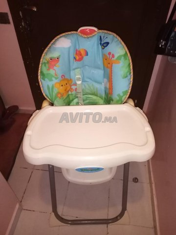 chaise haute pour bébé  - 3
