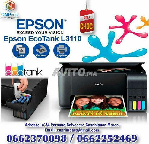 Epson Imprimante 3en1 EcoTank L3110. - 1