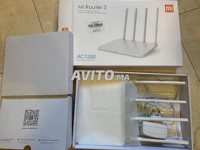 Xiaomi Mi Routeur 3 Wifi AC 1200 avec 4 antennes - 1