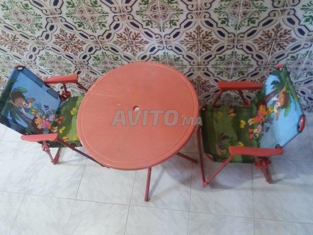 table et chaise pour bébé  - 1