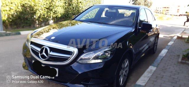 Voiture Mercedes benz Classe e 2014 au Maroc  Diesel  - 9 chevaux