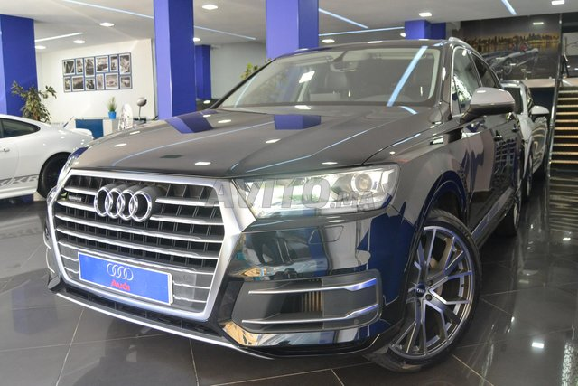 Voiture Audi Q7 2018 au Maroc  Diesel  - 12 chevaux