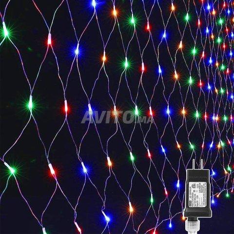 Filet lumineux à LED 4×6 mètres Blanc - 1