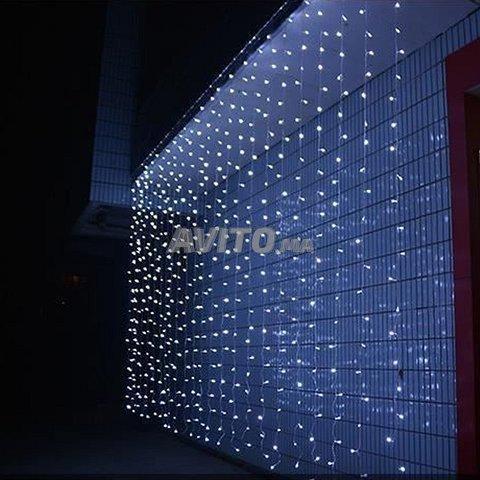 Filet lumineux à LED 4×6 mètres Blanc - 2