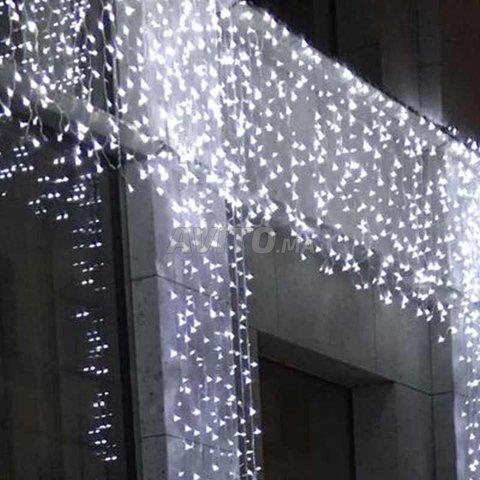 Filet lumineux à LED 4×6 mètres Blanc - 4