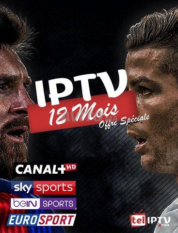 ABONNEMENT iptv 12 MOIS Smart TV m3u xtream mag - 1