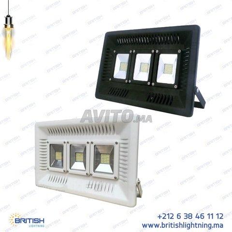 Projecteur LED 100W Ultraslim IP65 (étanche) - 2