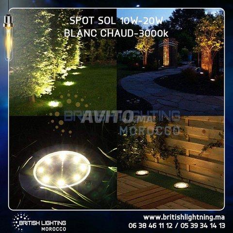 SPOT SOL COB LED 10-30W - 4
