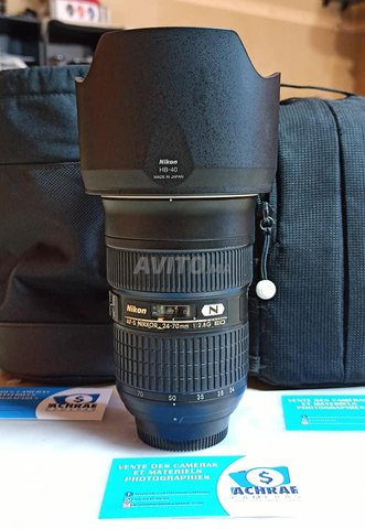 Nikon AF-s 24-70mm f2.8G N importer Germany - 2