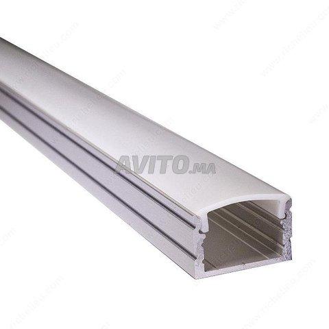 Profilé LED aluminium apparent  - 1