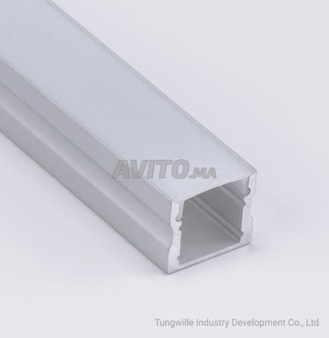 Profilé LED aluminium apparent PR024 - 1