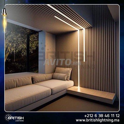 Profilé LED aluminium apparent PR024 - 7