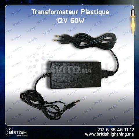 Transformateur 12V 60W Plastique - 3