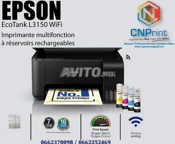 Wi-Fi EcoTank L3150 d'Epson - 1