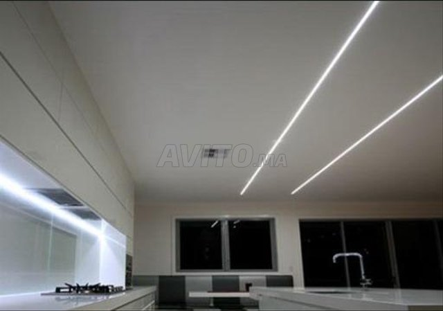 Profilé LED aluminium encastrable  - 6