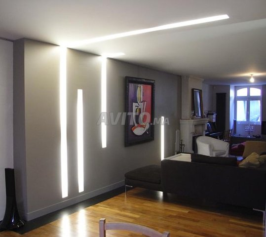 Profilé LED aluminium apparent  - 4