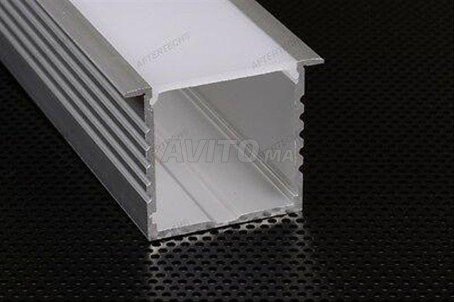 Profilé LED aluminium apparent  - 5
