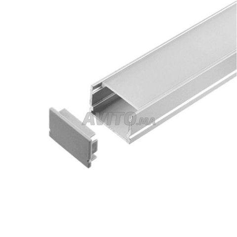 Profilé LED aluminium apparent  - 8
