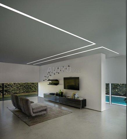 Profilé LED aluminium apparent PR0016 - 3