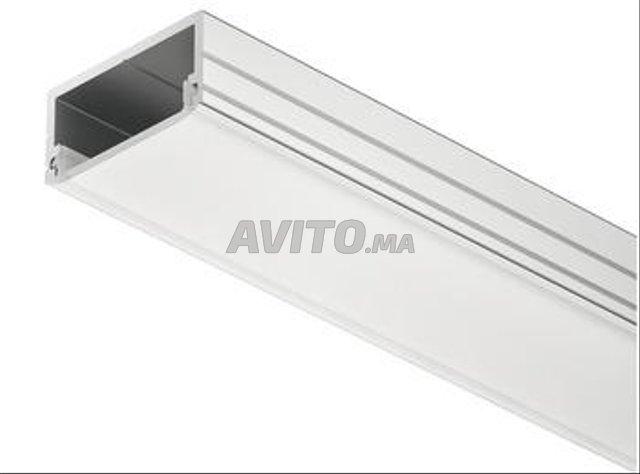 Profilé LED aluminium suspendue PR020 - 4