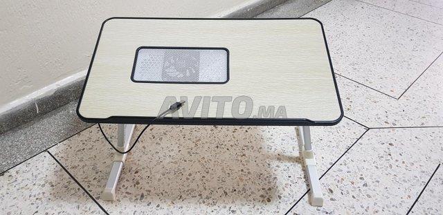 table pour pc portable avec ventilateur  - 1