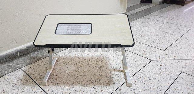 table pour pc portable avec ventilateur  - 2