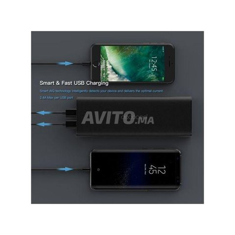 PowerBank mAh 45W USB C PD pour MacBook - 3