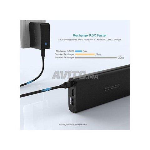 PowerBank mAh 45W USB C PD pour MacBook - 4