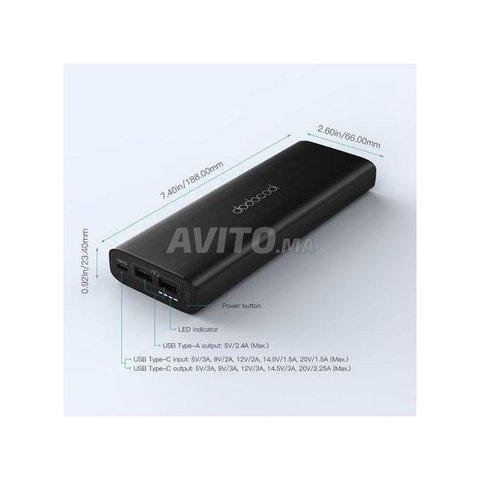 PowerBank mAh 45W USB C PD pour MacBook - 5