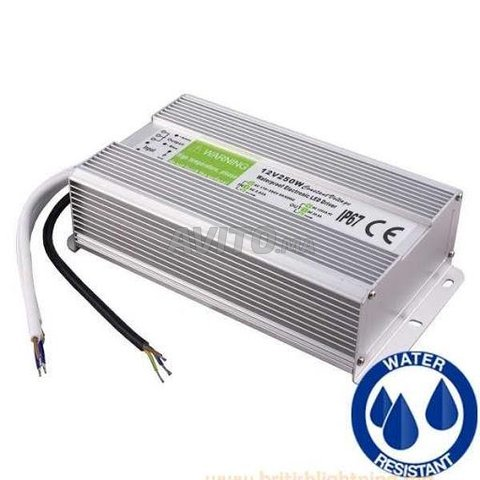 Transformateur 12v 250w ip67 Etanche - 1