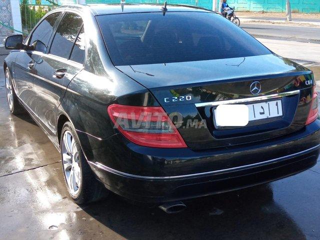 Voiture Mercedes benz Classe c 2008 au Maroc  Diesel