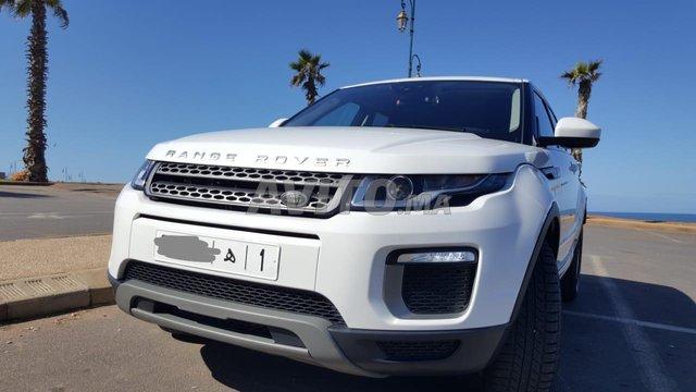 Voiture Land rover Range rover evoque 2017 au Maroc  Diesel