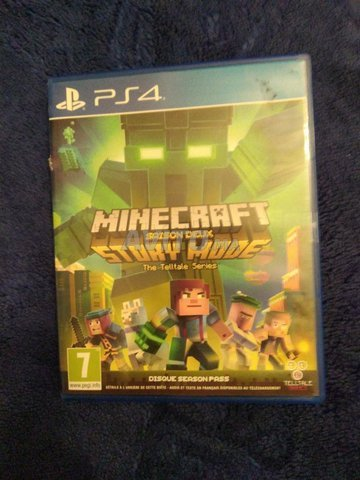 Minecraft Story mode PS4 - 1