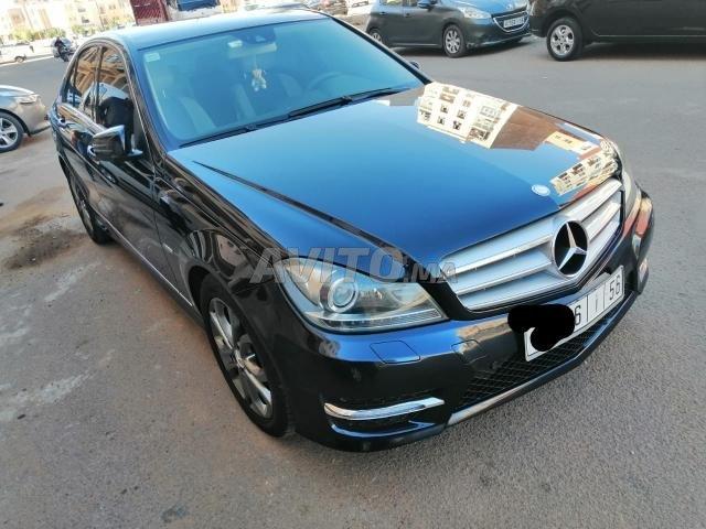 Voiture Mercedes benz Classe c 2012 au Maroc  Diesel  - 8 chevaux