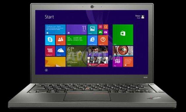 Laptop LenovoThinkpad X240 i5 bon état - 1