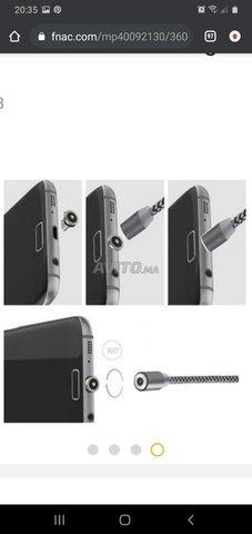 Cable Chargeur magnétique 3en1 - 2