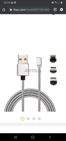 Cable Chargeur magnétique 3en1 - 1
