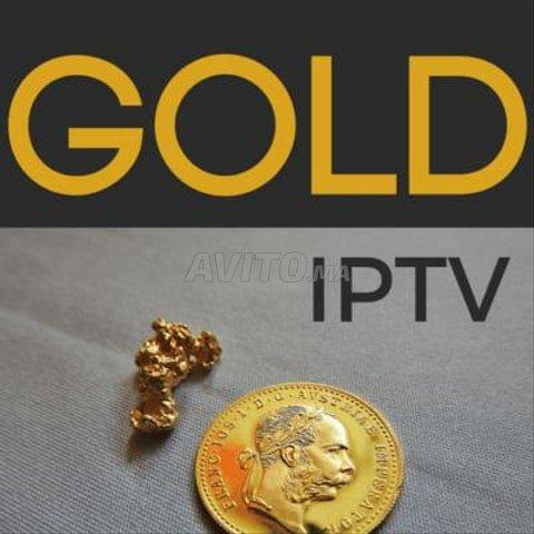 GOLD IPTV 12 MOIS ABONNEMENT  - 1