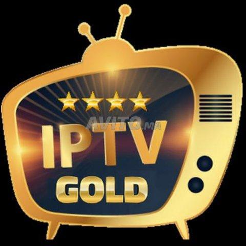 GOLD iptv 12 mois FULL-HD VOD 4K pro - 1