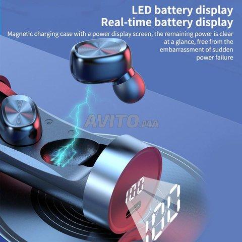 Bluetooth headset 5.1 Space capsule TWS Wireless - 6