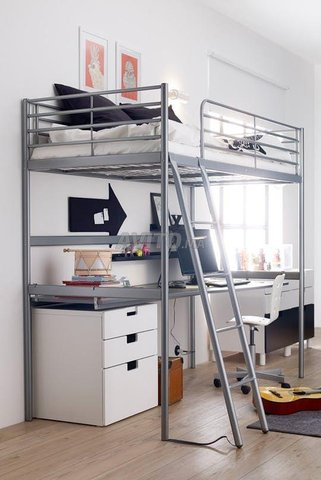 Lit mezzanine IKEA - 2