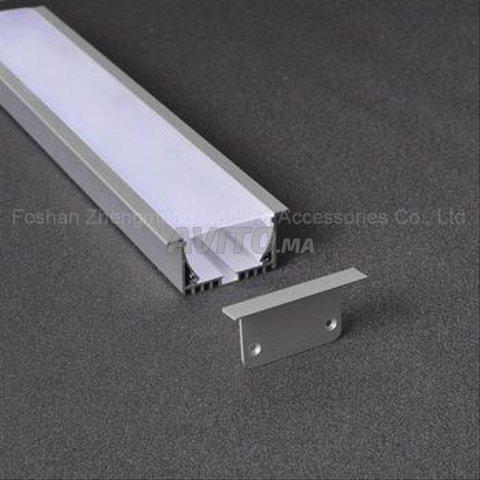 Profilé LED aluminium apparent /brlm - 7