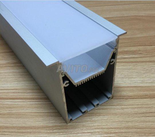 Profilé LED aluminium apparent /brlm - 3