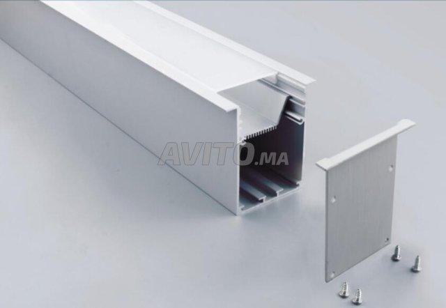Profilé LED aluminium apparent /brlm - 8