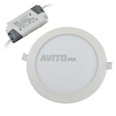 Panel LED Rond Encastrable 3W-24W - 3