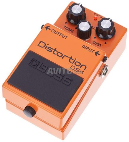 Boss DS-1 distortion pedal - 1